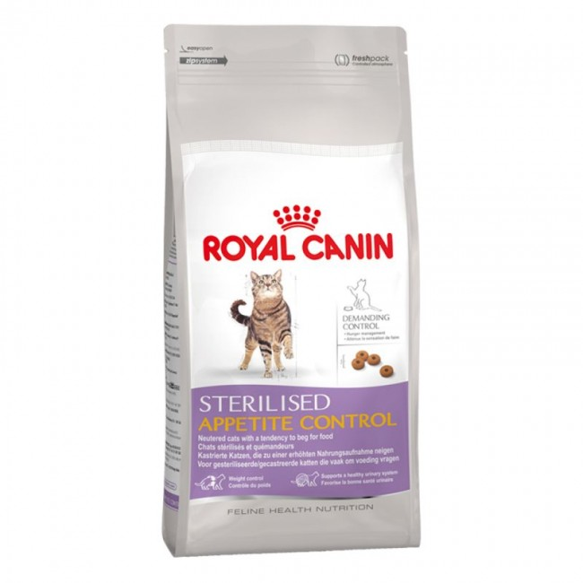 royal canin sterilised appetite control pet shop buvara. Black Bedroom Furniture Sets. Home Design Ideas